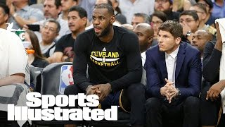 LeBron James Says He's 'Fine' After Taking Elbow To Neck | SI NOW | Sports Illustrated