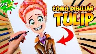 Cómo Dibujar a Tulip │cigüeñas- Storks│La historia que no te contaron│How to draw Tulip