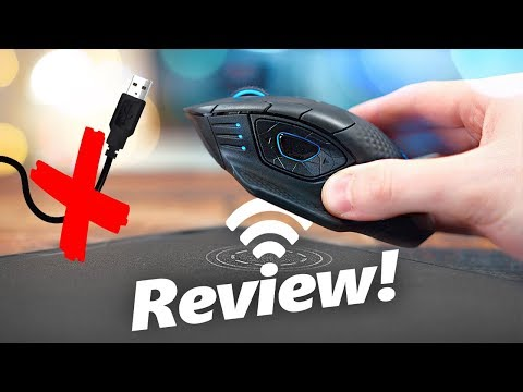Corsair Dark Core RGB SE Wireless Mouse + MM1000 Qi Mouse Pad Review!