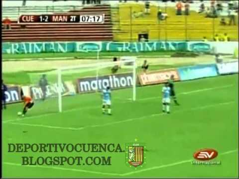 Gol de Ayala a Manta