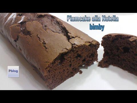 video ricetta: bimby - plumcake alla nutella senza uova