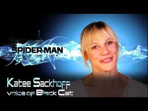 Katee Sackhoff talks Spider-Man Edge of Time Video Game