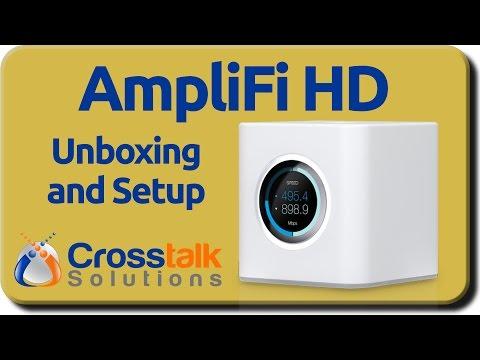 AmpliFi HD Unboxing and Setup