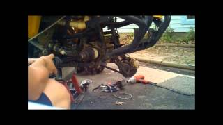 8. Arctic Cat Axle Removal