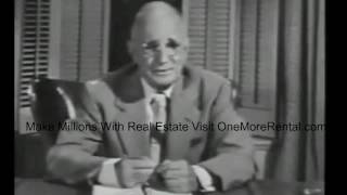 Making Millions With Real Estate http://www.onemorerental.com/resources/Napoleon Hill is the author of one of the best books Think and Grow Rich. This book has changed my life and helped me be successful in real estate. This is something that every real estate investor should hear.What Every Real Estate Investor Needs To Hear Motivation