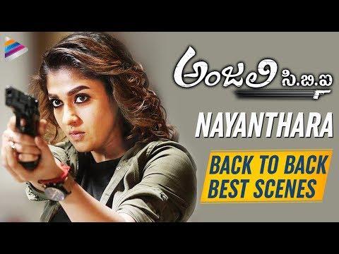 Nayanthara B2B BEST SCENES   Anjali CBI Latest Telugu Movie   Vijay Sethupathi   2019 Telugu Movies