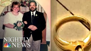 Lost & Found: Emotional Reunion After Woman Finds A Wedding Ring Inside Instapot | NBC Nightly News