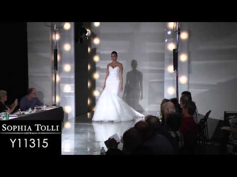Runway: Sophia Tolli Spring 2013 Bridal Collection
