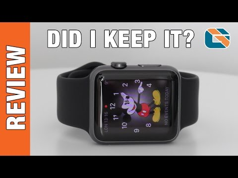 Space Grey 42mm Apple Watch Review #AppleWatch - Did I Keep It ?