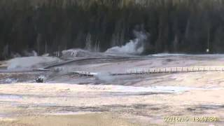 Feb 16, 2015 Upper Geyser Basin Daytime Streaming Camera Captures
