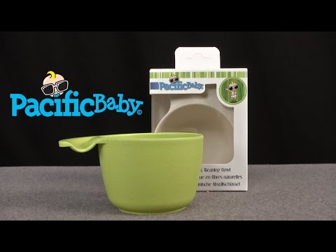 Natural Ergonomic Weaning Bowls from Pacific Baby