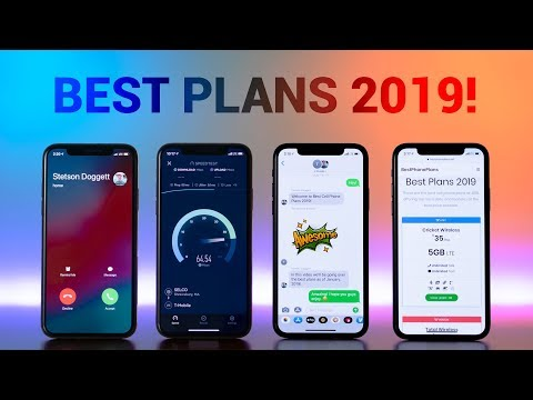 Best Cell Phone Plans 2019!