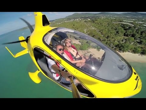 Flying Over Phuket Islands with Cavalon by AutoGyro