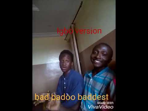 "Igbo Version Of""if"" By Davido Bad Baddo Badest By Falz"