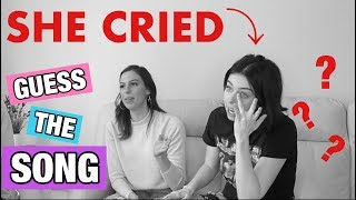 Video GUESS THE SONG CHALLENGE *EMOTIONAL* **SHE CRIED** MP3, 3GP, MP4, WEBM, AVI, FLV Juni 2018