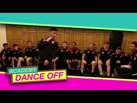 Stevenage Academy Dance Off and some ridiculous footwork from number 54