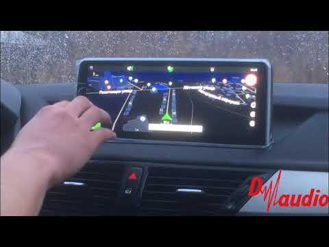 Штатное головное устройство BMW X1 E84 (2009 - 2015)