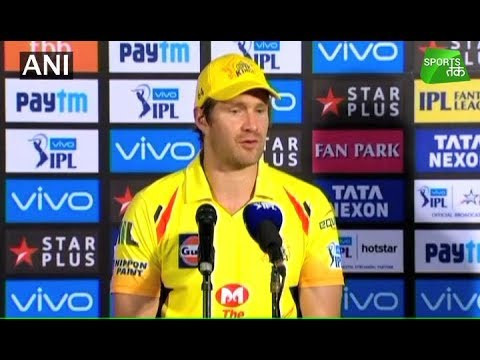 Watson Fullfils His Dream in Chennai Jersey | Sports Tak (видео)