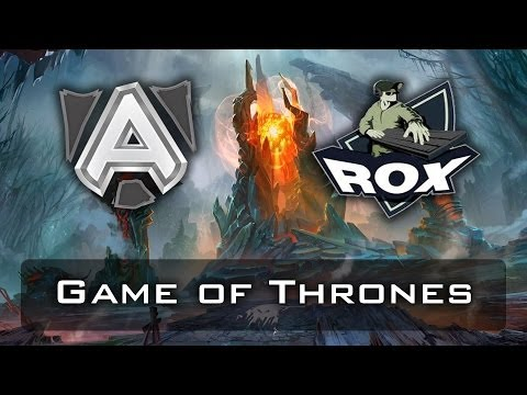 Dota 2 - Game of Thrones | Alliance vs RoX.KIS