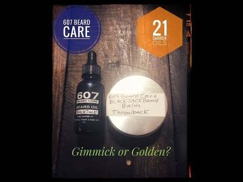 21 Carrier Oils: Gimmick or Golden? {607 Beard Care Beard Oil and Balm Review}