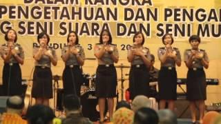 Penampilan POLWAN SRIKANDI'S POLDA JABAR  (SESAKIT-SAKITNYA) Video