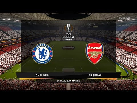 CHELSEA VS ARSENAL | UEFA EUROPA LEAGUE FINAL 2019 | FIFA 19