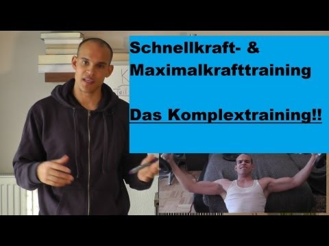 Beste Maximalkrafttraining & Schnellkrafttraining! - Komplextraining - Teil 1 - (Krafttraining) FastestAthletes  FastestAthletes