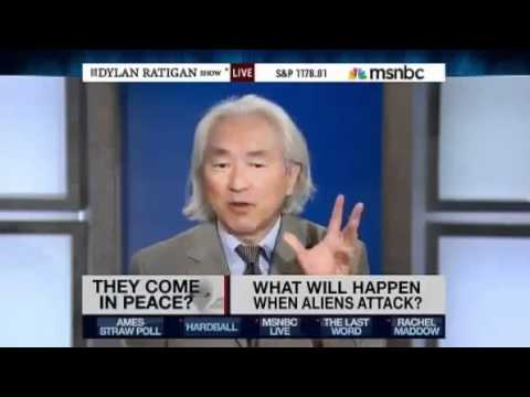 Bluebeam - Dr Michio Kaku, renowned physicist, author and mouth piece for the scientific dictatorship that is the NWO, talks on the MSM about the likely hood of an alie...