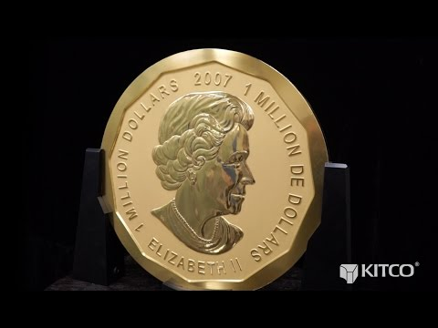 The Royal Canadian Mint's Million Dollar Coin Now Available at Kitco