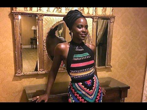 Top Billing meets Lupita Nyongo at the Queen Katwe Joburg