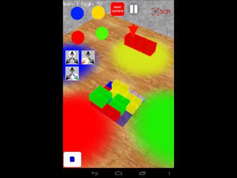 Video of Tetri Blocks 3D