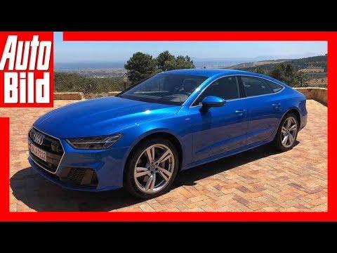 Audi A7 (2018) - Erste Fahrt/Review / Details / Erkläru ...