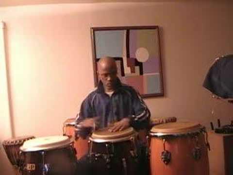 3 Drum Conga Practice - 1