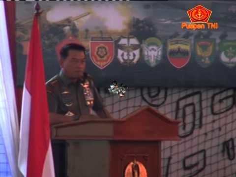 Panglima TNI Beri Pembekalan Apel Dansat TNI AD