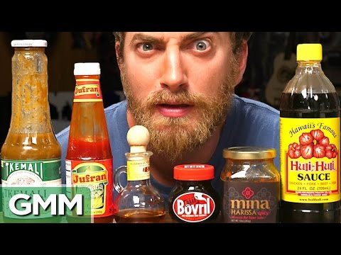 10 • E10___  _    Strange Condiments Taste Test