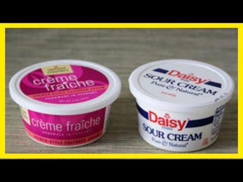 Sour Cream, Crema, Crème Fraîche: What's The Difference?