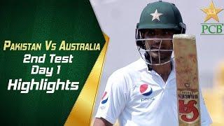 Pakistan Vs Australia   Highlights   2nd Test Day 1   PCB