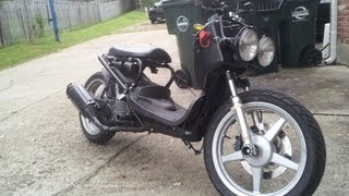 8. 163cc  Honda Ruckus with 16