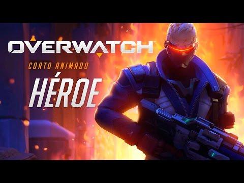 "Overwatch corto animado   ""Héroe""   PS4"