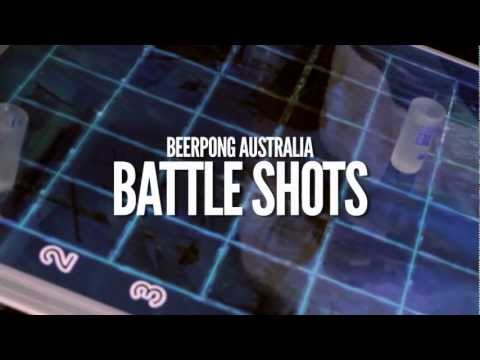 Battle shots Beer Pong