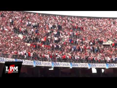 Video - Y vamos Millonario que tenemos que ganar... - River vs Racing - Torneo Inicial 2012 - Los Borrachos del Tablón - River Plate - Argentina