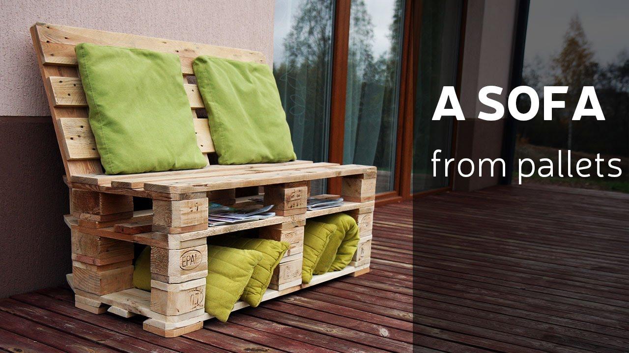 C mo hacer un sof con palets - Tapizado de sillas paso a paso ...
