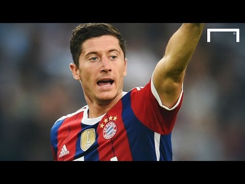Video: Lewandowski's first ever goal for Bayern Munich