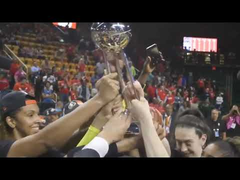 Seattle Storm Celebrate Title 2018-09-13