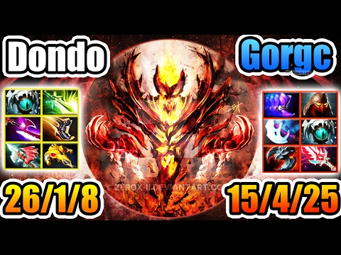 Dendi Dota 2 [Shadow Fiend] & Gorgc [Troll Warlord] You Don't Get ANY Chance
