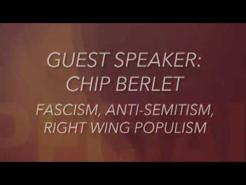 Chip Berlet: Fascism, Anti-Semitism and the Far Right