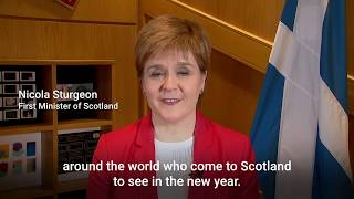 First Minister Nicola Sturgeon gives her 2019 New Year\\\'s Message