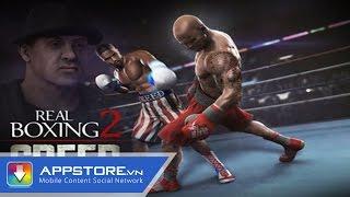 [Game] Real Boxing 2 - Trải nghiệm đấm bốc siêu thực - AppStoreVn, tin công nghệ, công nghệ mới