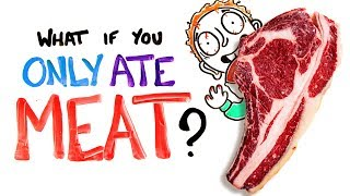 Video What If You Only Ate Meat? MP3, 3GP, MP4, WEBM, AVI, FLV Mei 2018