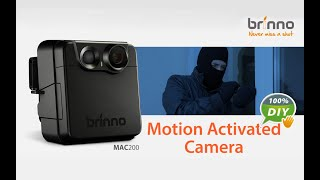 Brinno Battery Powered Security Camera-MAC200